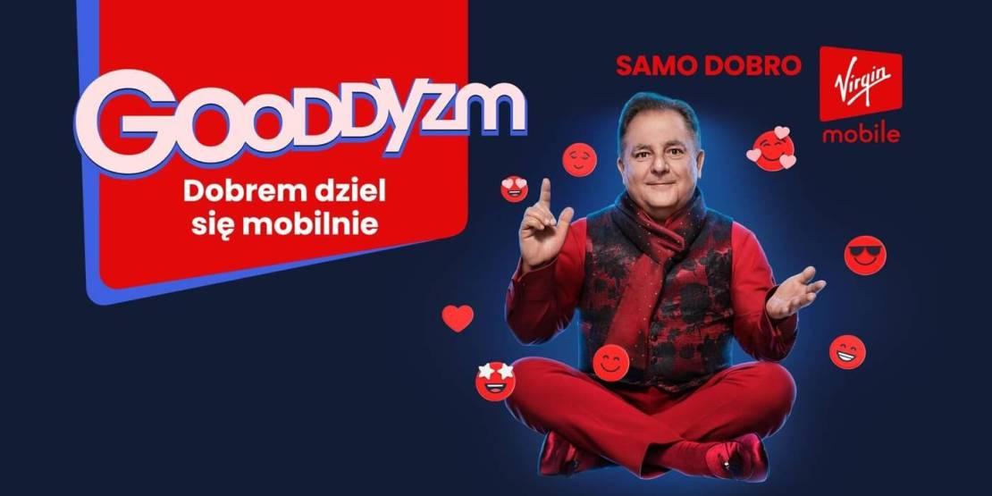 Virgin  Mobile Polska i Robert Makłowicz szerzą Gooddyzm