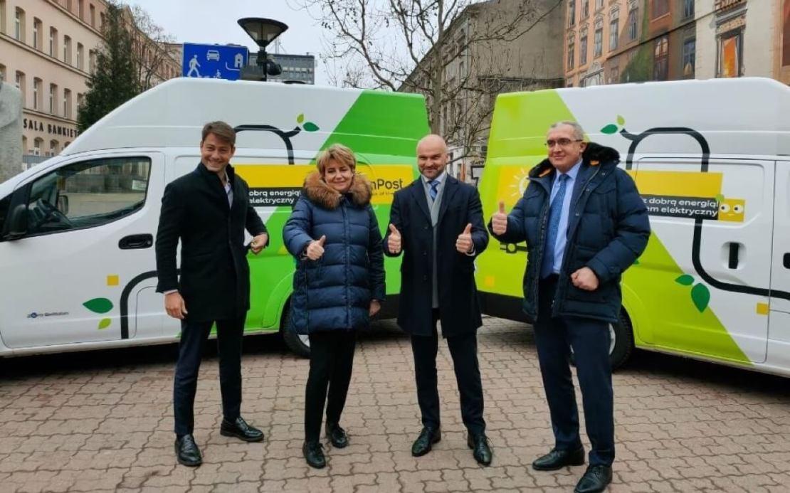 Green City w Łodzi we współpracy z firmą InPost