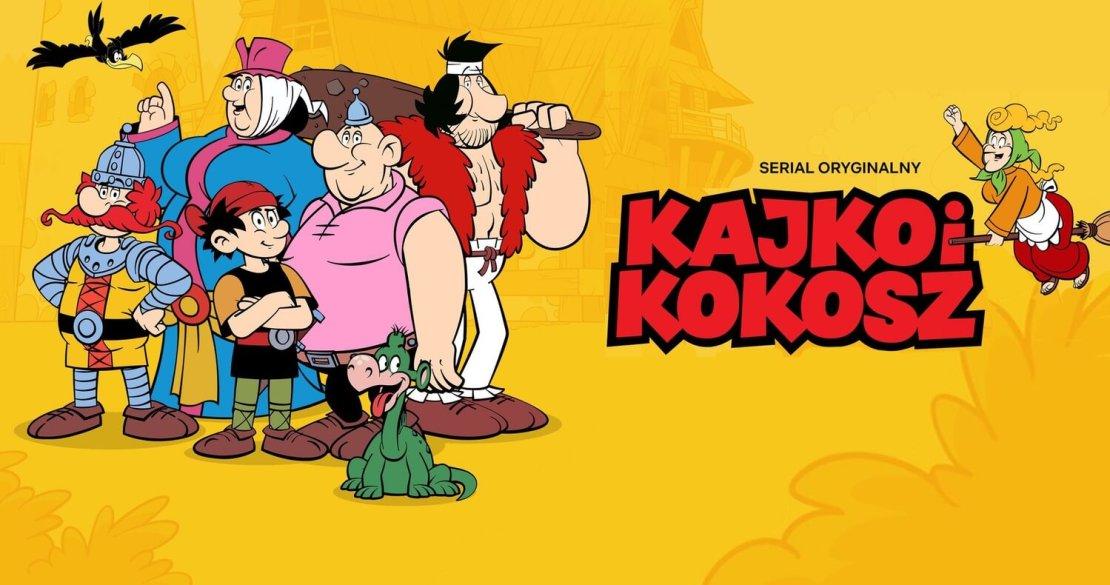 """Kajko i Kokosz"" - serial oryginalny Netflix (2021)"