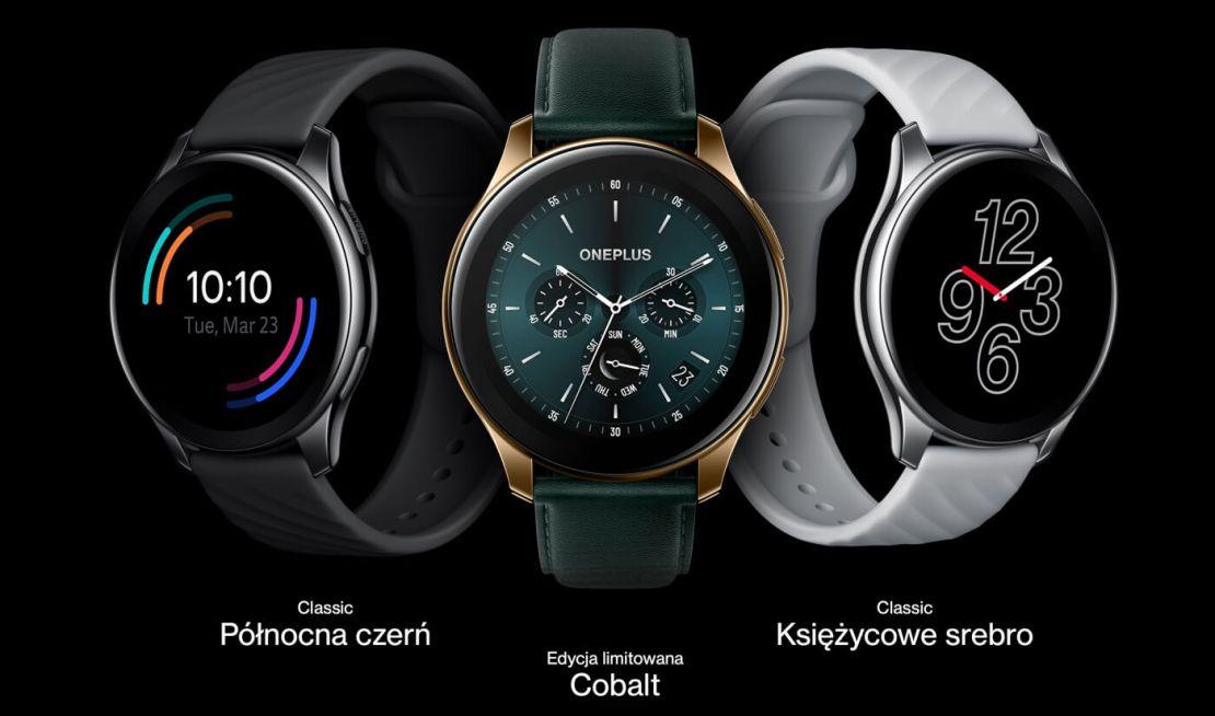 OnePlus Watch (official - rodzaje)