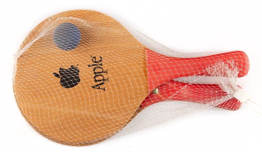 Rakietki do tenisa stołowego Apple (ping-pong)