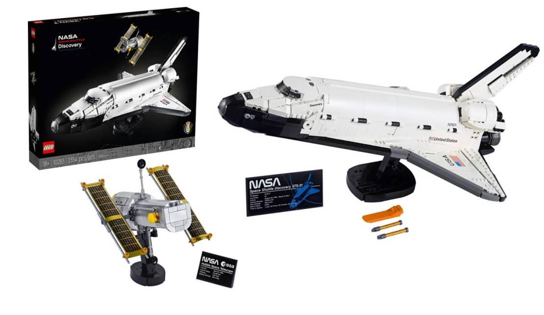 Wahadłowiec Discovery NASA LEGO (10283)