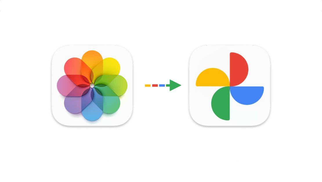 Transfer Zdjęć iCloud (Apple) do usługi Zdjęcia Google