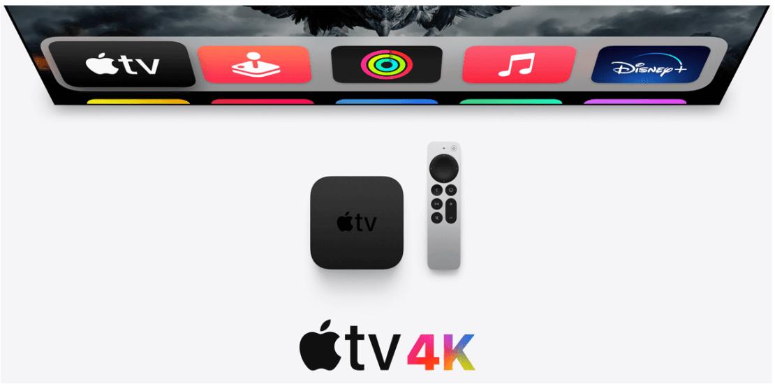 Apple TV 4K 2. gen. z 2021 roku