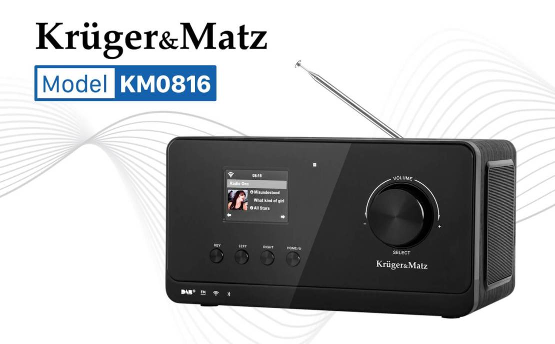 Radio internetowe Kruger&Matz KM 816