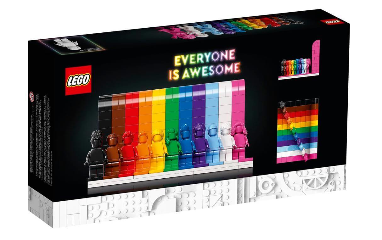 Pudełko zestawu LEGO – Każdy jest wspaniały (40516)