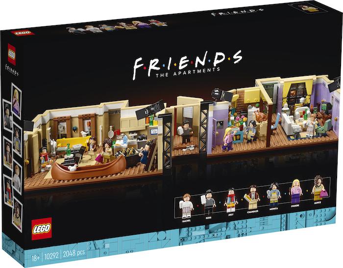 Mieszkania z serialu Przyjaciele (pudełko)