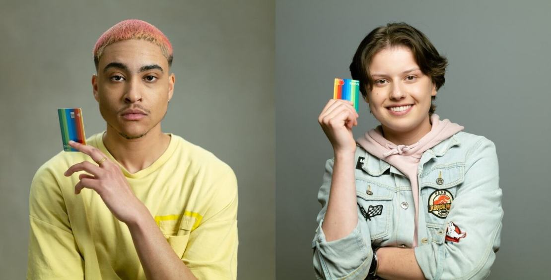 bunq i Mastercard wdrażają True Name - wspierając LGBTQIA+