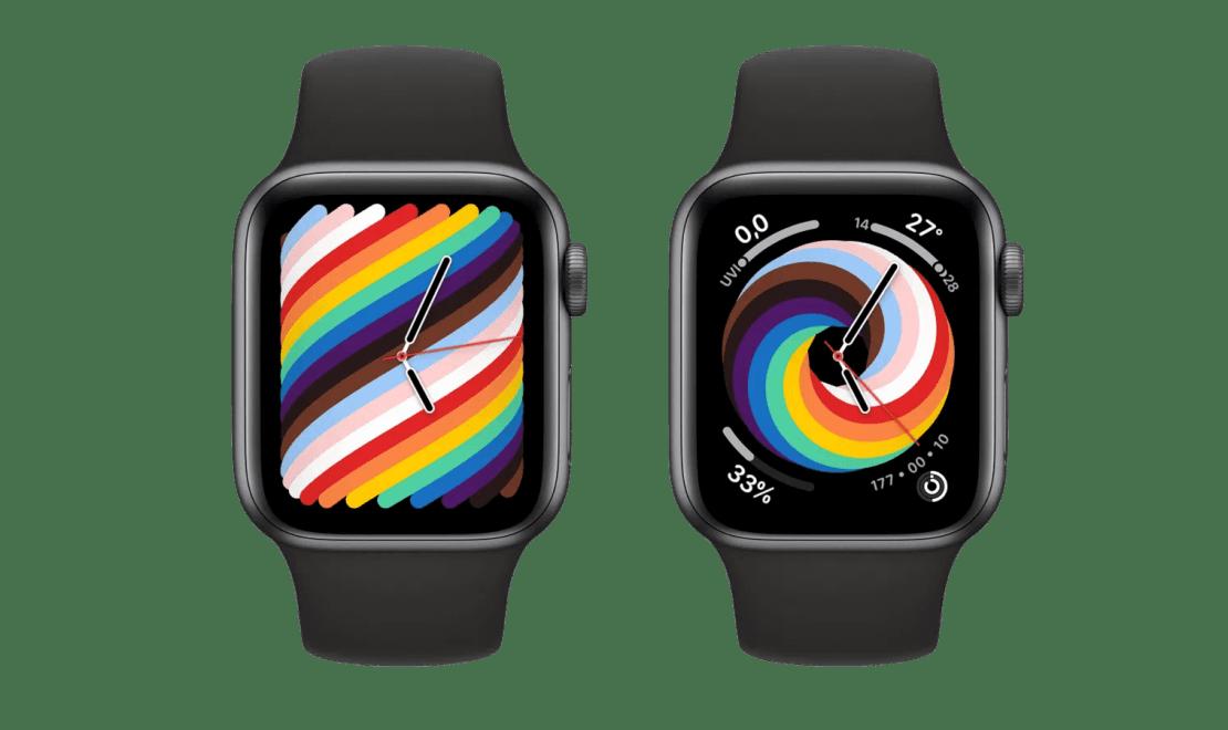 Tarcze Apple Watch Pride Woven 2021