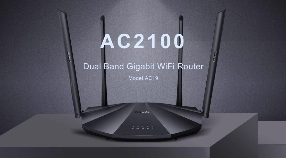 Router bezprzewodowy Tenda AC19