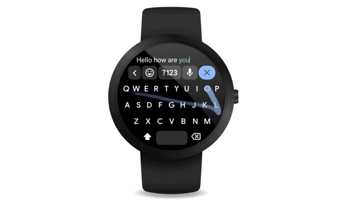 Aplikacja GBoard na Wear OS