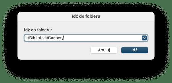Czyszczenie pamięci podręcznej pod macOS