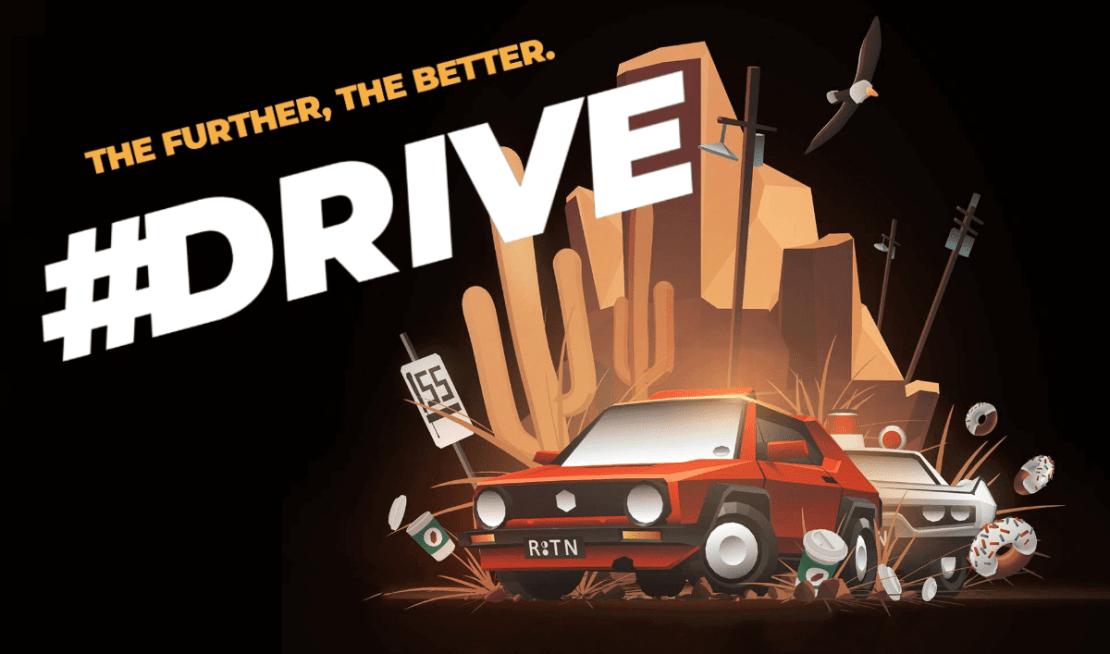 Gra mobilna #DRIVE