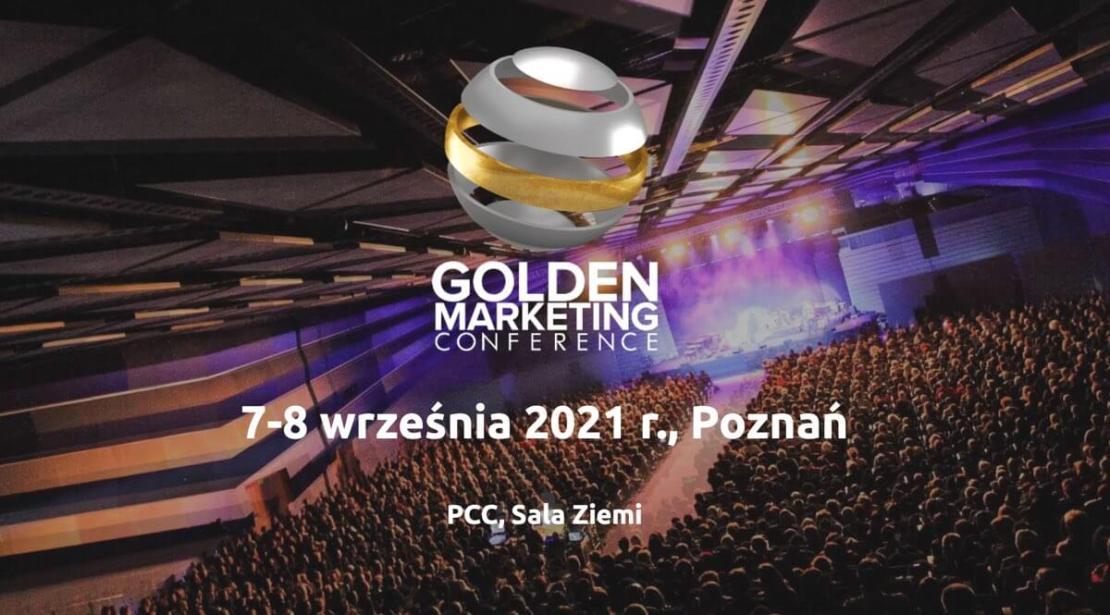 Golden Marketing Conference wrzesień 2021