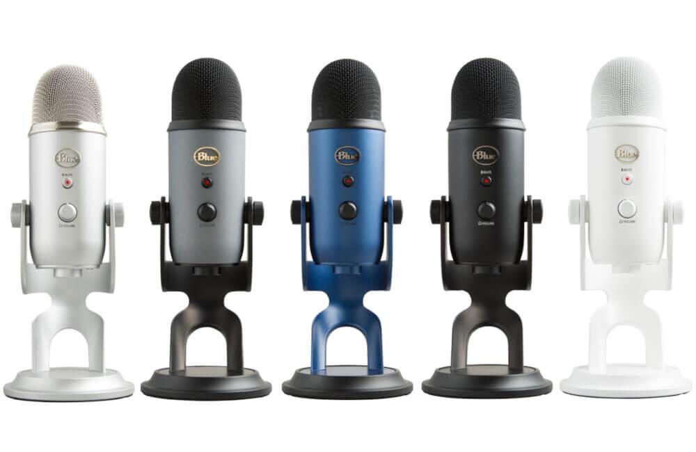 Kolory mikrofonu Blue Yeti
