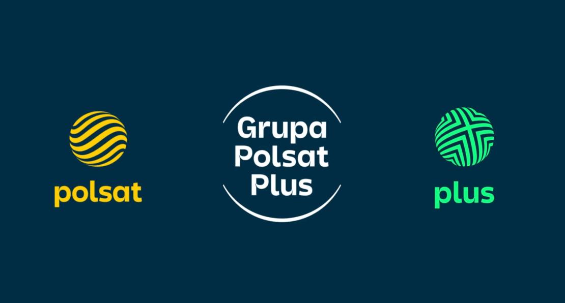 Nowe logotypy Grupy Polsat Plus (Polsat i Plus) – 2021