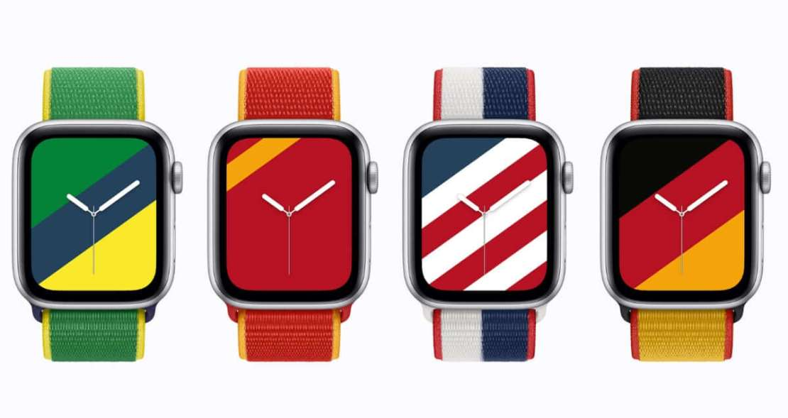 Międzynarodowe paski zegarka Apple Watch w edycji limitowanej (2021)
