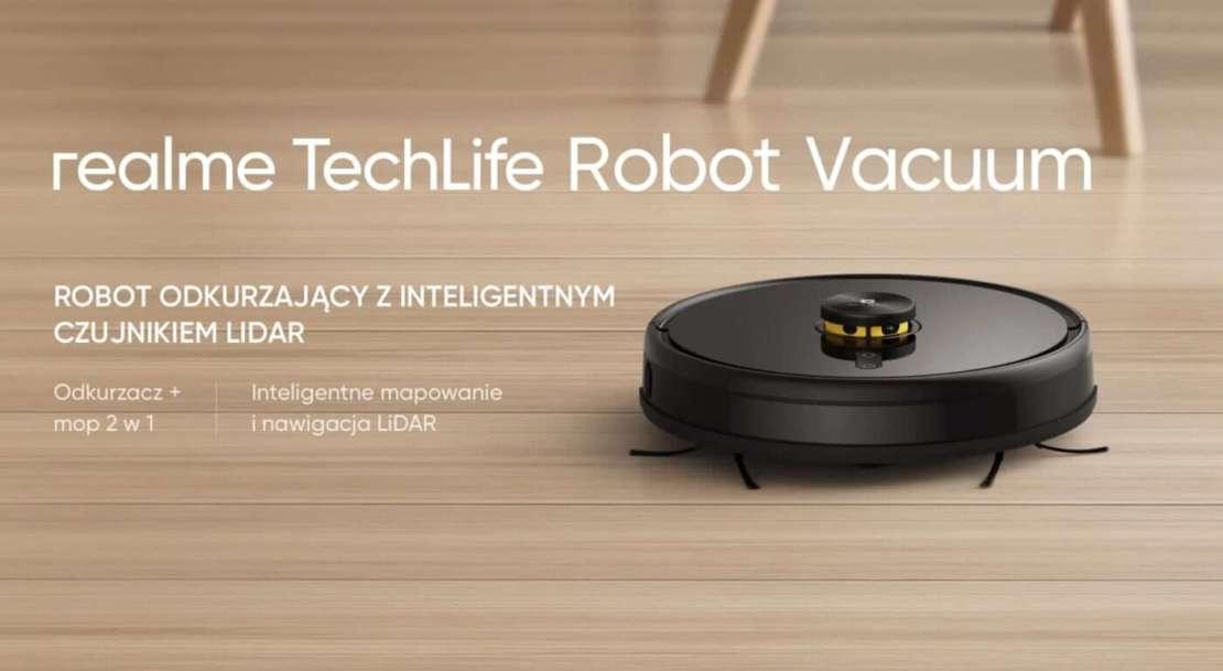 Odkurzacz realme Robot Vacuum