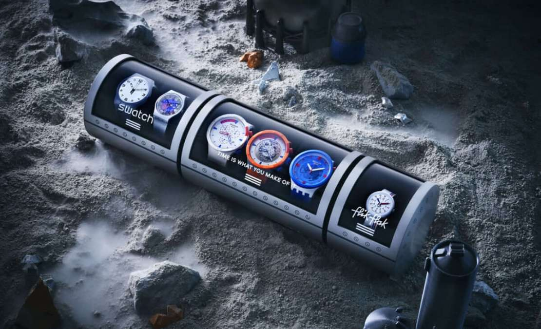 Swatch Space Collection (NASA, 2021) Exclusive Set