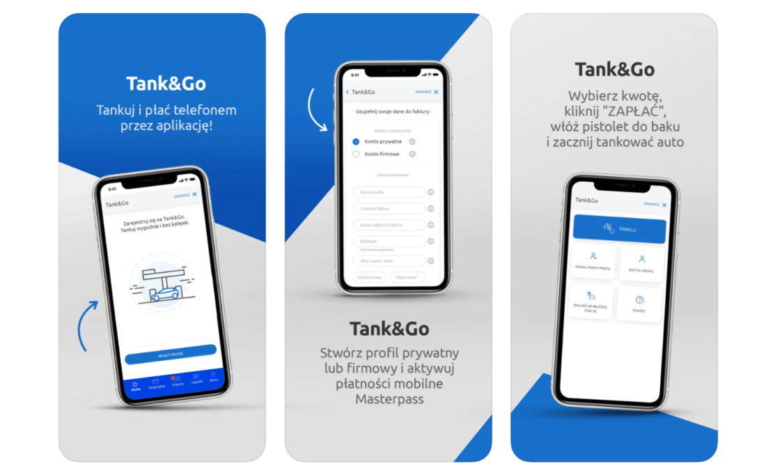 """Tank&Go w aplikacji """"Mój Carrefour"""""""