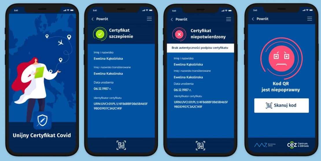 UCC - Unijny Certyfikat Covid