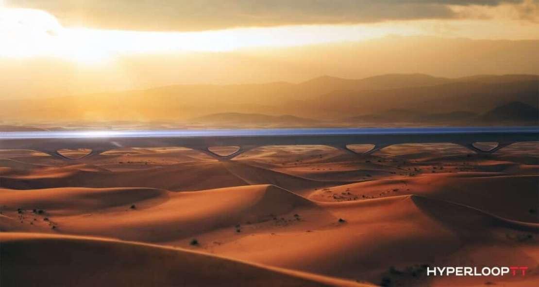 Tunele Hyperloop umożliwią wysokowydajny i ultraszybki transport