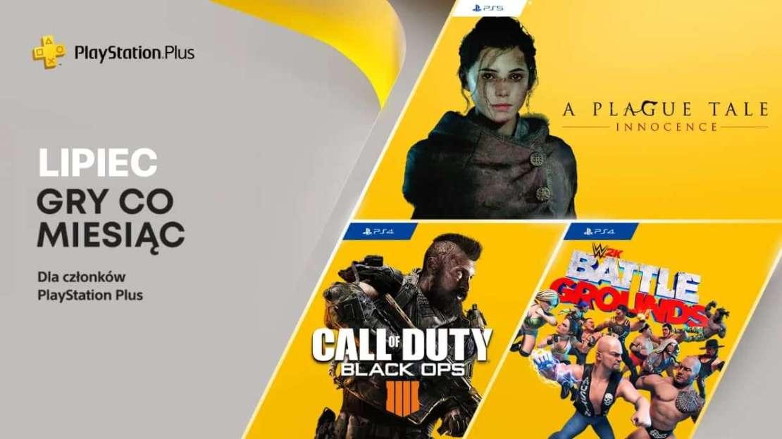 Gry w ramach PlayStation Plus (lipiec 2021)