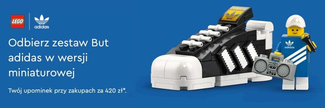 LEGO® But adidas Originals Superstar w wersji miniaturowej (40486)