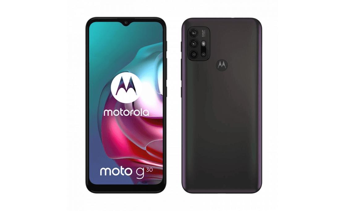 Smartfon Motorola moto g30 (czarny)