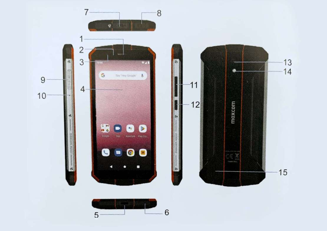 Opis telefonu MS507