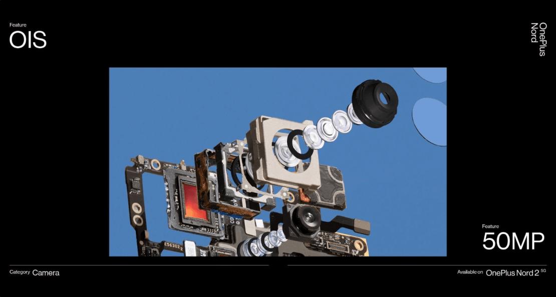 Aparat w OnePlus Nord 2 5G z OIS (optyczną stabilizacją obrazu)