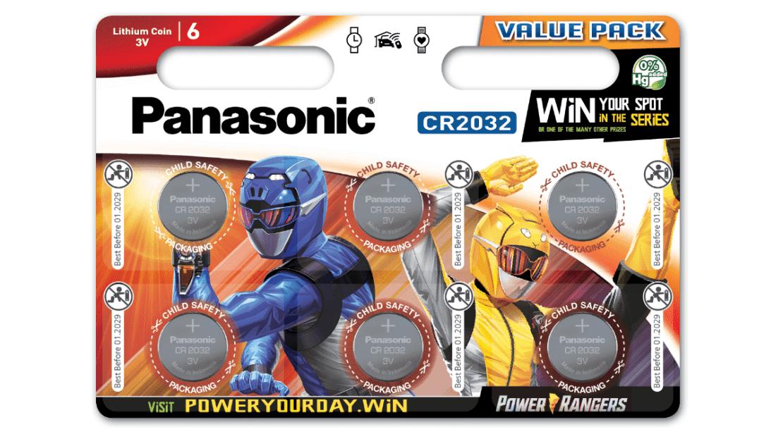Panasonic i Power Rangers