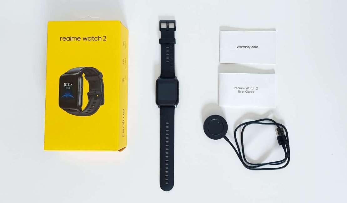 Zawartość opakowania Realme Watch 2