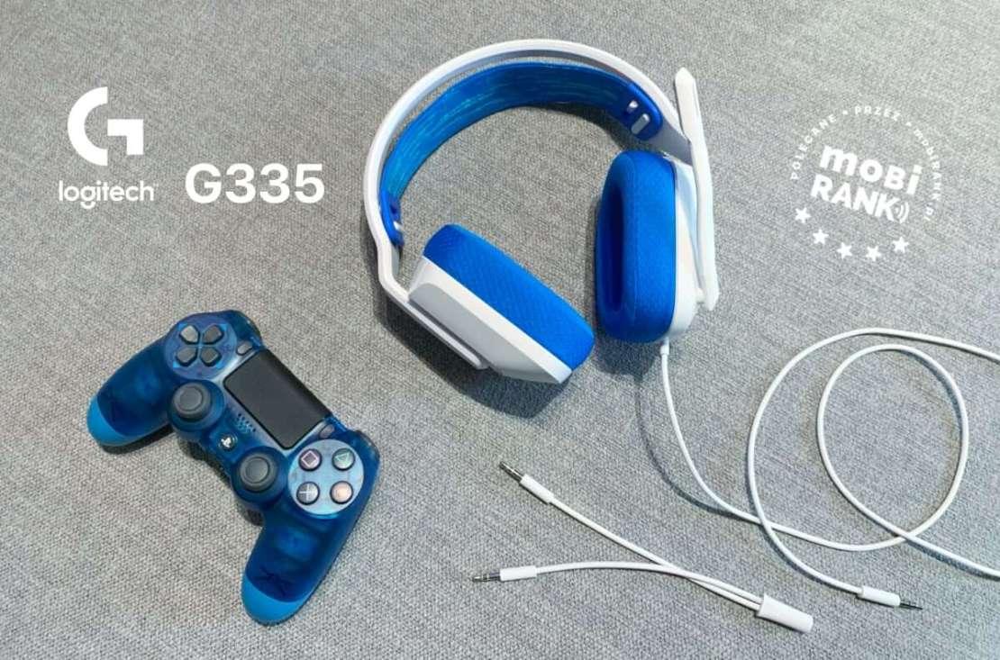 Słuchawki przewodowe Logitech G335 dla graczy