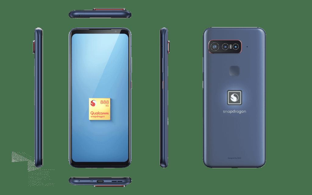Smartphone for Snapdragon Insiders - widok ze wszystkich stron
