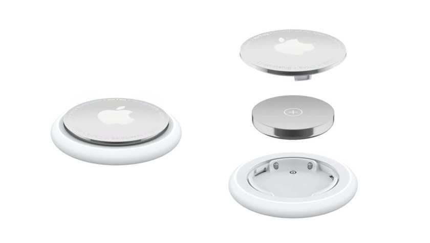 Wymiana baterii w AirTagu firmy Apple