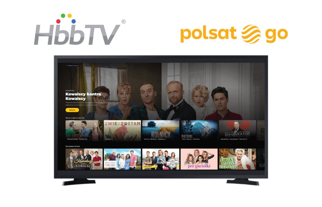 Nowy serwis HbbTV Polsatu w telewizji naziemnej
