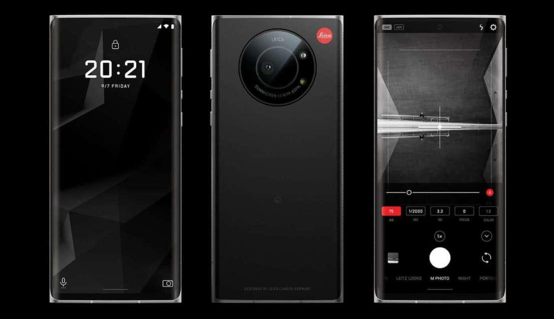 Leitz Phone 1 firmy Leica i Sharp