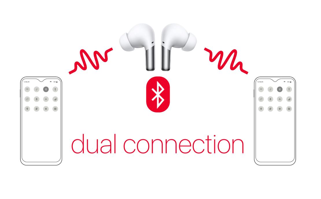 """OnePlus Buds Pro - funkcja """"dual connection"""" w przyszłej aktualizacji firmware'u słuchawek"""