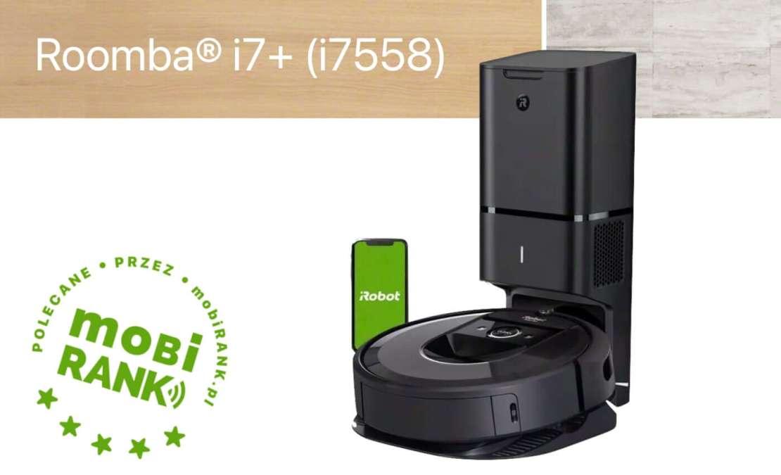 Recenzja robota sprzątającego Roomba iRobot i7+