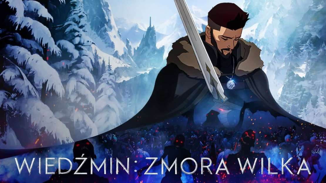 """""""Wiedźmin: Zmora wilka"""" (film anime, Netflix, 2021 r.)"""