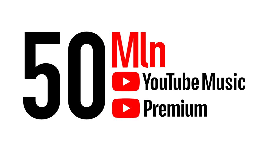 YouTube Music i YouTube Premiu mają już 50 mln subskrybentów
