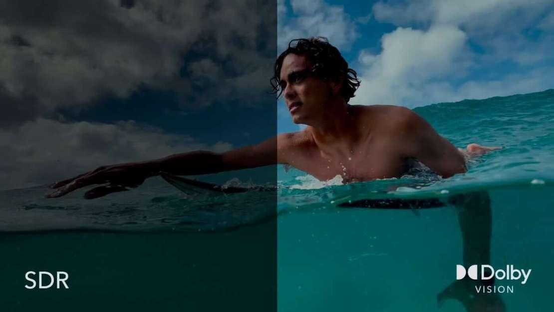 SDR vs. Dolby Vision HDR na Vimeo