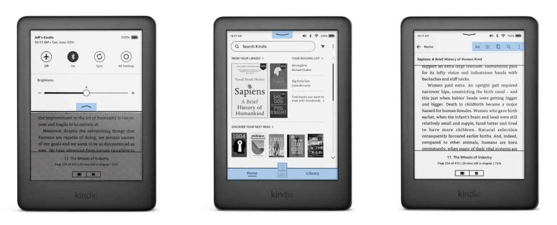 Nowe funkcje w aktualizacji firmware'u dla czytników Kindle (3Q 2021)
