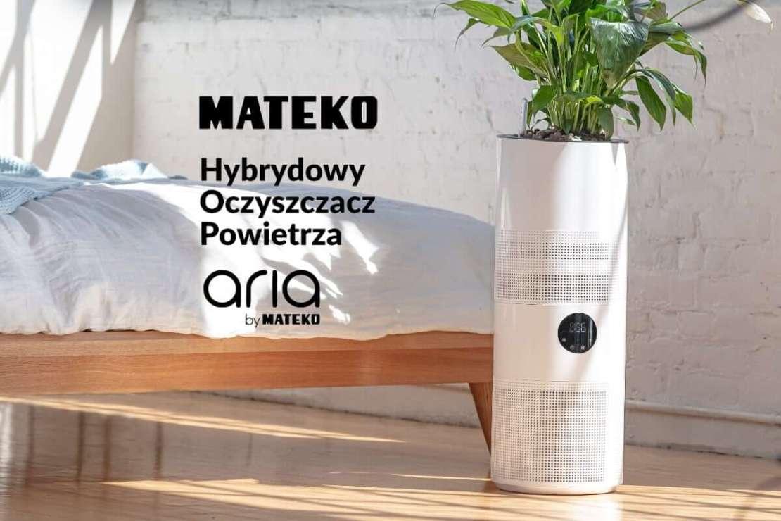 Aria - hybrydowy oczyszczacz powietrza by MATEKO