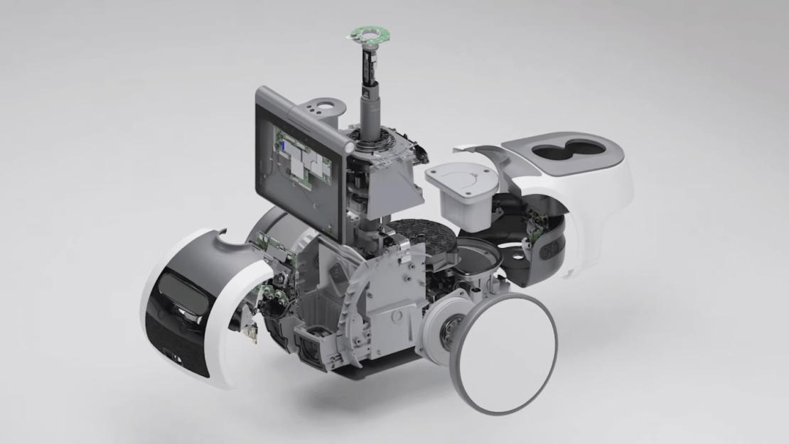 Co ma w środku robot Astro?