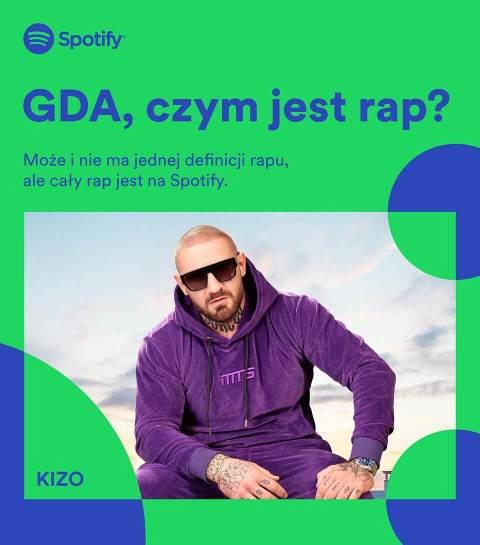 GDA - czym jest rap? KIZO (Spotify)