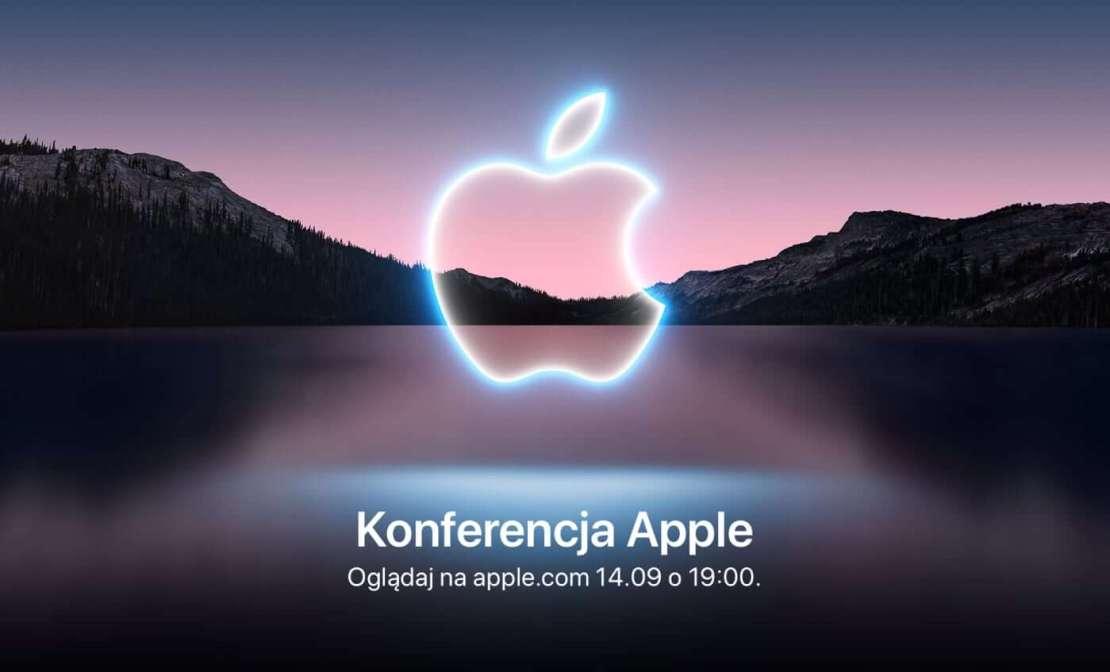 Konferencja Apple 19 września 2021 roku o godz. 19.00 (online)