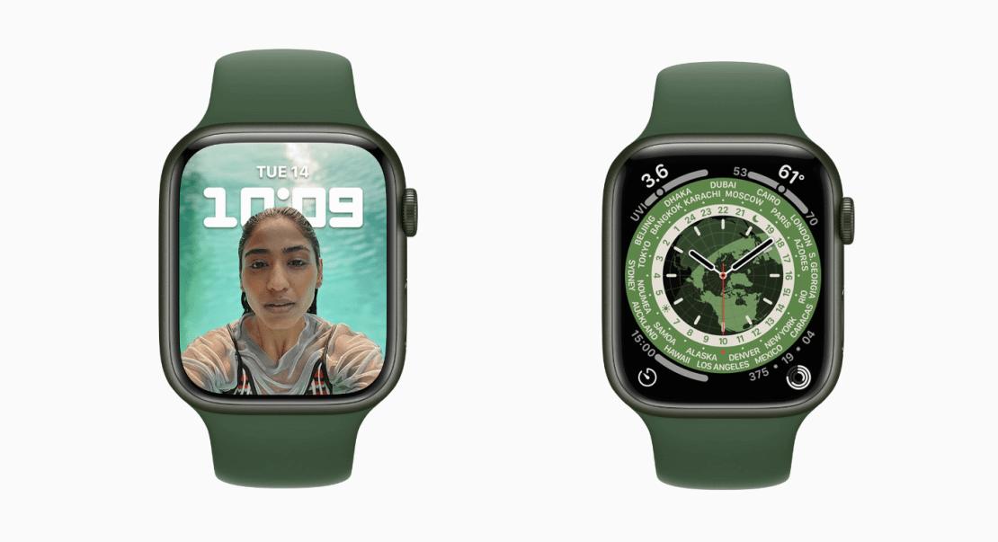 Nowe tarcze zegarka Apple Watch pod watchOS 8