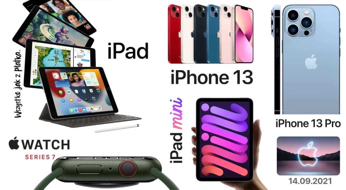 Wszystkie nowości z konferencji Apple z 14 września 2021 roku